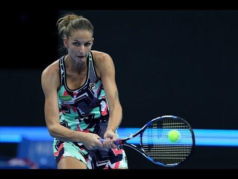 2017 China Open Second Round   Andrea Petkovic vs. Karolina Pliskova   WTA Highlights
