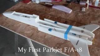 F/A-18 Parkjet Crash