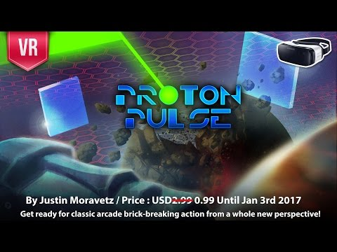 Proton Pulse - Get ready for classic arcade brick-breaking action from a whole new perspective!