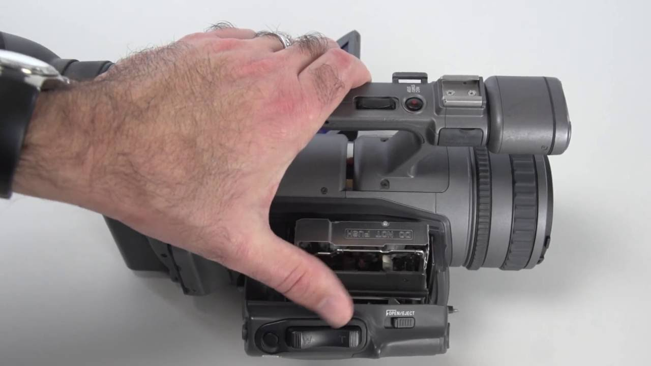 sony handycam keeps ejecting tape