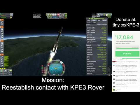 Charity Livestream - Unofficial Kerbal Polar Expedition 3 Post-Expedition Special