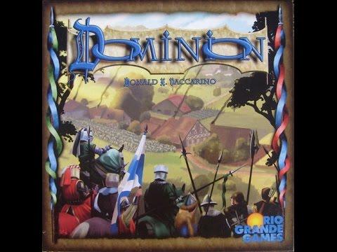 Dominion Card Game - Live Play - Rio Grande Games