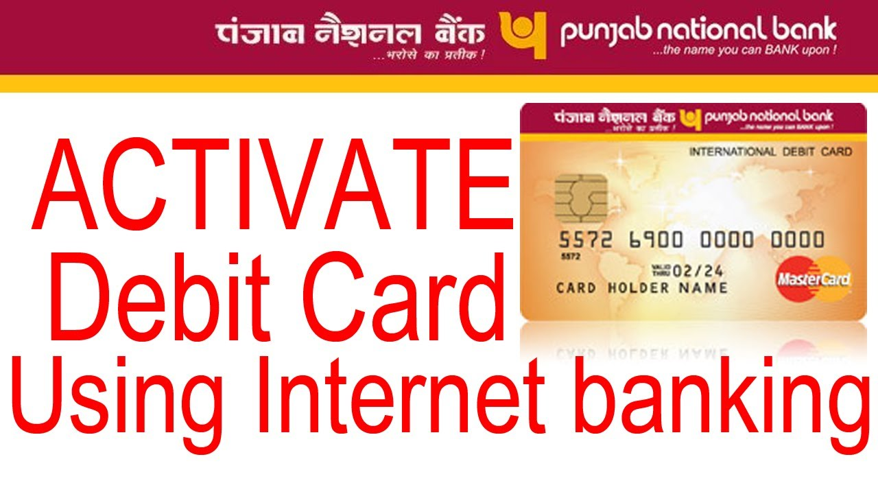 How to activate my mastercard debit card online