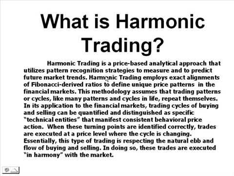 What is Harmonic Trading?