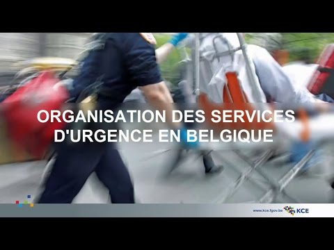 Organisation des services d'urgence en Belgique