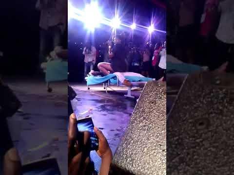 Ebony grinds Accra Technical University student on stage