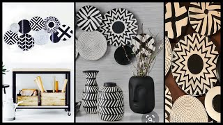 6 Beautiful Patterned Wall Decor Ideas For Your Living Room|gadac Diy|home Decor| Diy Room Decor