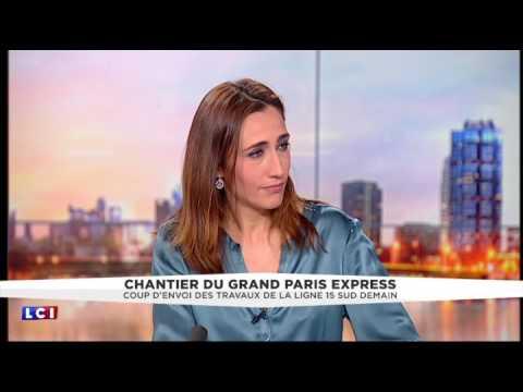 Lancement du Grand Paris Express : ses bénéfices racontés par Philippe Yvin sur LCI