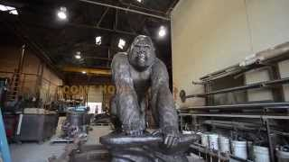 "TEASER: The Gorilla Statue ""Making Of"" - Pittsburg State University"