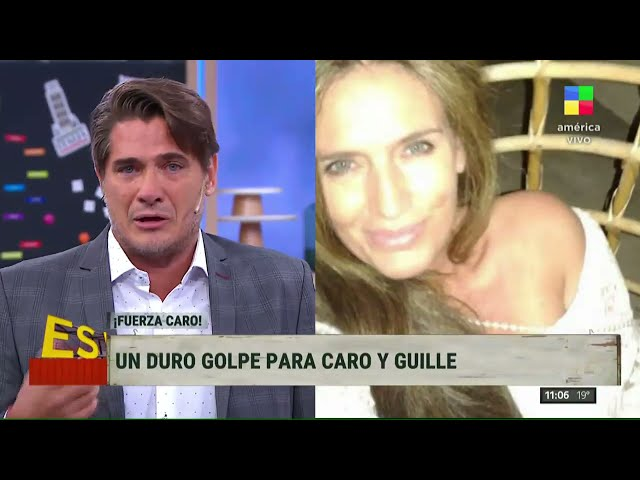 Guillermo Andino recordó a su cuñada