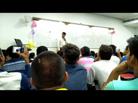 Birthday celebration of skm sir... Nucleus education