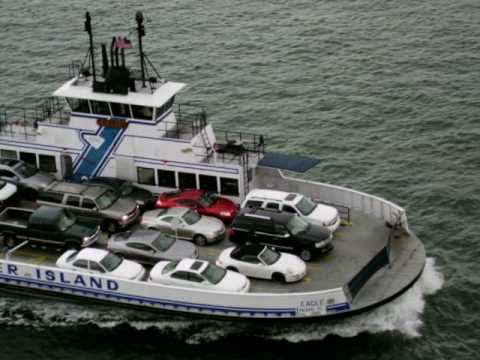 Ferry boat carries cars youtube sciox Images
