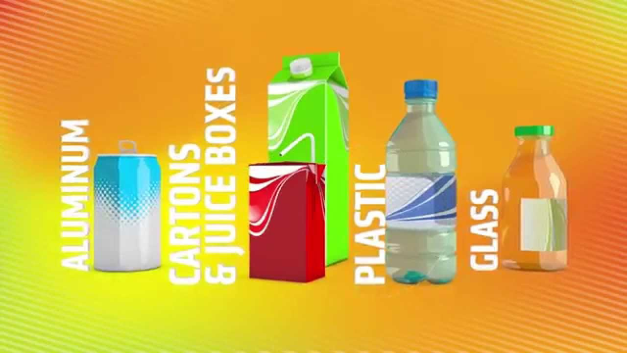What Recycled Beverage Containers Become | Recycle Everywhere