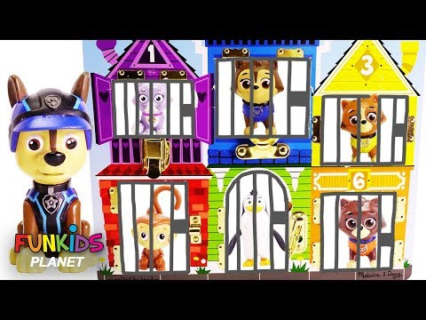 Paw Patrol Skye & Chase Rescues Pets and...