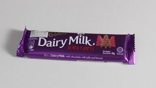 รีวิว Chocolate Cadbury Dairy Milk Black Forest