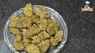 A popular Gujarati snack reciipe mix vegetable muthiya