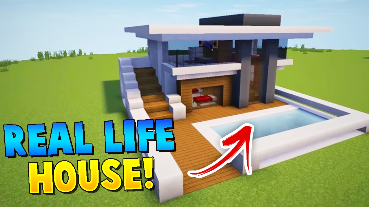 Building Our Real Life House In Minecraft Denis Alex