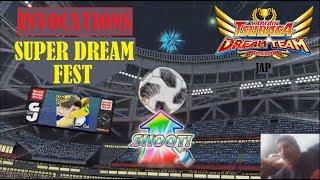 CAPTAIN TSUBASA DT (jap) INVOCATIONS SUPER DREAM FEST SANTANA