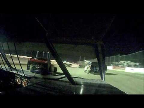 6 10 16 Casper Speedway mod 4 main 12 in car
