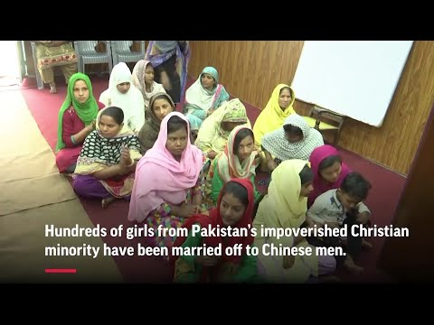 Pakistani girls sold in China's 'bride market' - YouTube