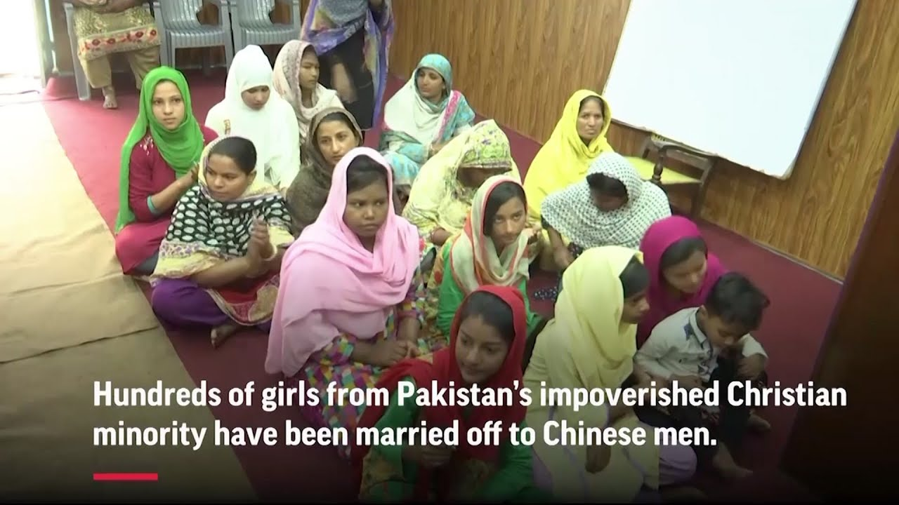 Pakistani girls sold in China's 'bride market'