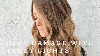 JOICO DEFY DAMAGE || TEASY LIGHTS
