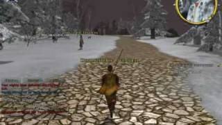 Lord of the Rings Online: Shadows of Angmar Gameplay