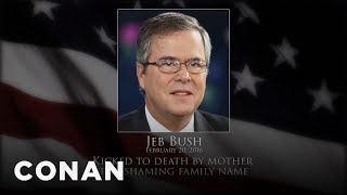 conan remembers the 2016 presidential candidates   conan on tbs
