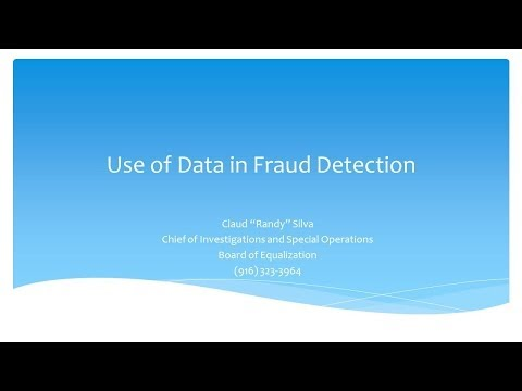 Preventing Fraud Waste and Abuse through Analytics - SAS Session 16: Big Data 2014 - A PSP Forum