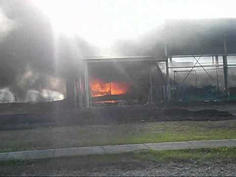 Carindale PCYC Fire + Bus Explosion