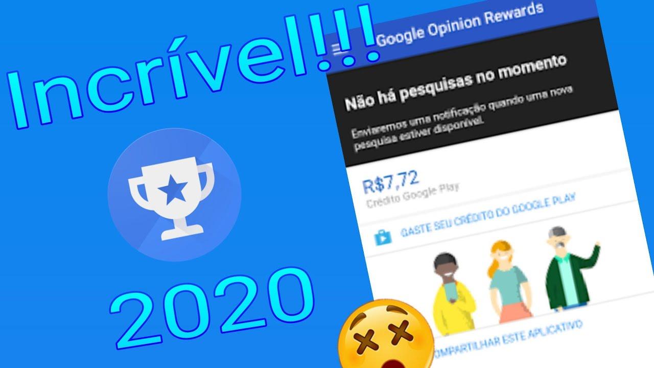 Como Fazer Uma Conta No Google Rewards 2020