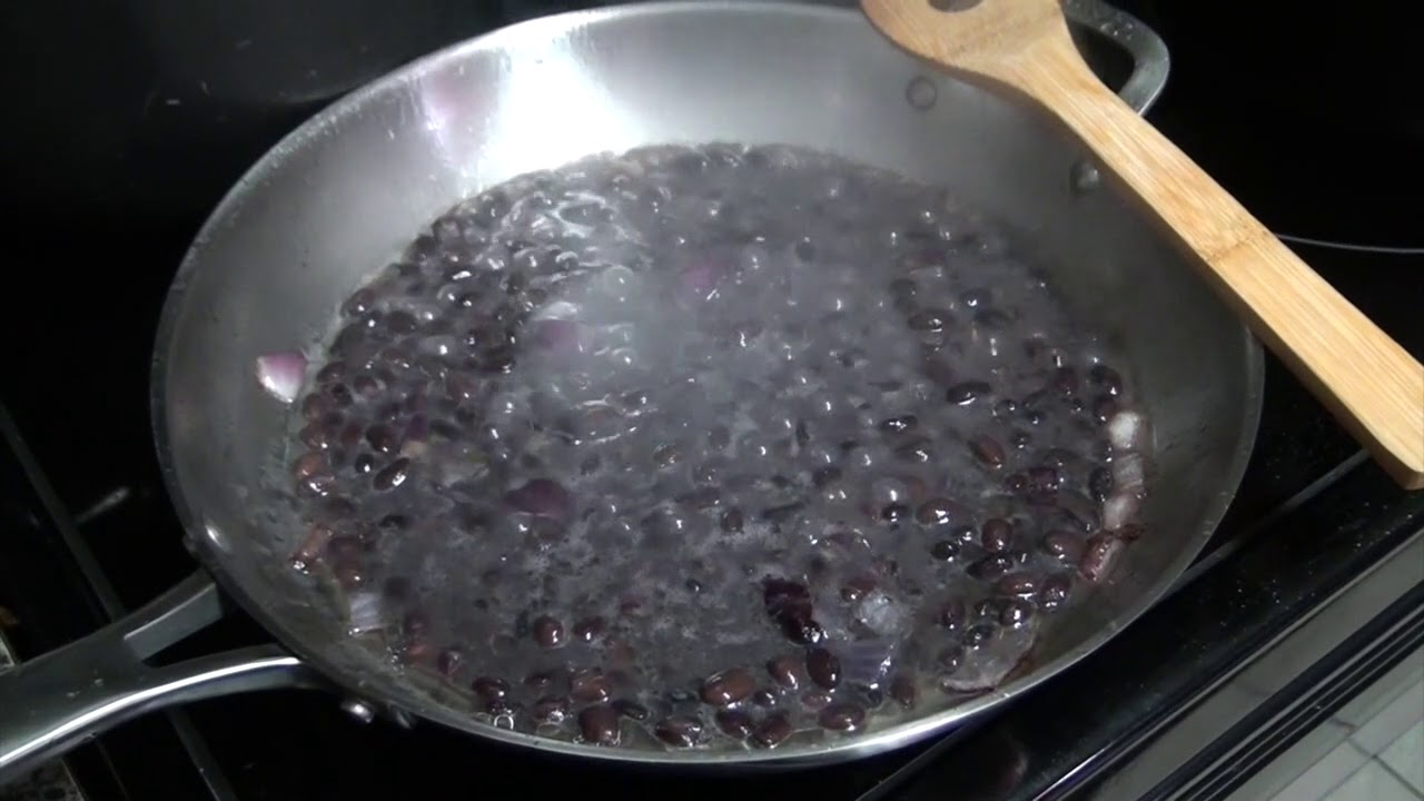 Remembering Nicaragua cooking Gallo Pinto (Beans and Rice)
