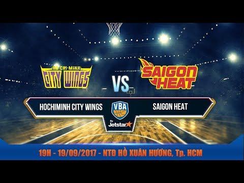 #Livestream || Game 11 : Hochiminh City Wings vs Saigon Heat 19/09 | VBA 2017 by Jetstar