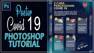 Poster Covid 19 ││photoshop Totorial