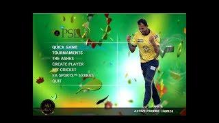 EA Sports Cricket PSL  Pc Gameplay  - PSL 3 - Lahore Qalanders vs Karachi Kings