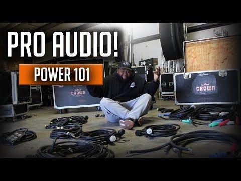 PRO AUDIO EP. 3   EVENT POWER   3 PHASE & SOCAPEX