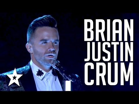 Brian Justin Crum  Auditions & Performances  America's Got Talent 2016 Finalist