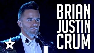 Brian Justin Crum  Auditions \u0026 Performances  America's Got Talent 2016 Finalist