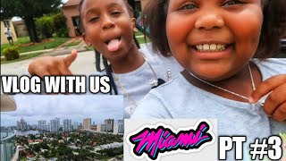 VLOG WITH US | MIAMI VACATION #3 | BEACH HOUSE TOUR
