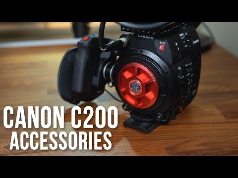 Canon C200 Cinema Camera - Must Have Accessories! - YouTube
