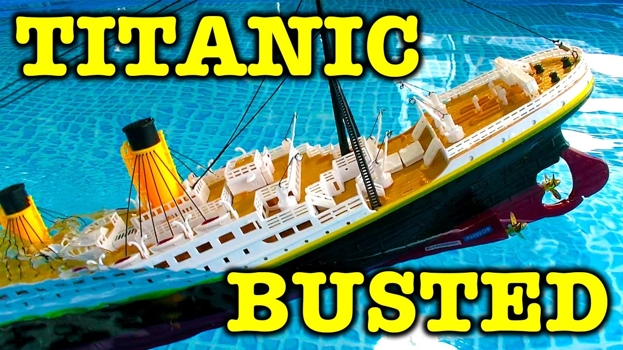 Toys R Us Titanic Model : Rms titanic quot model after sinking whats inside