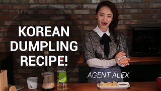 Agent Alex : How To Make Korean Dumplings (mandoo)