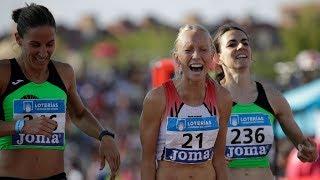 Women's 800m at Spanish Championships 2018