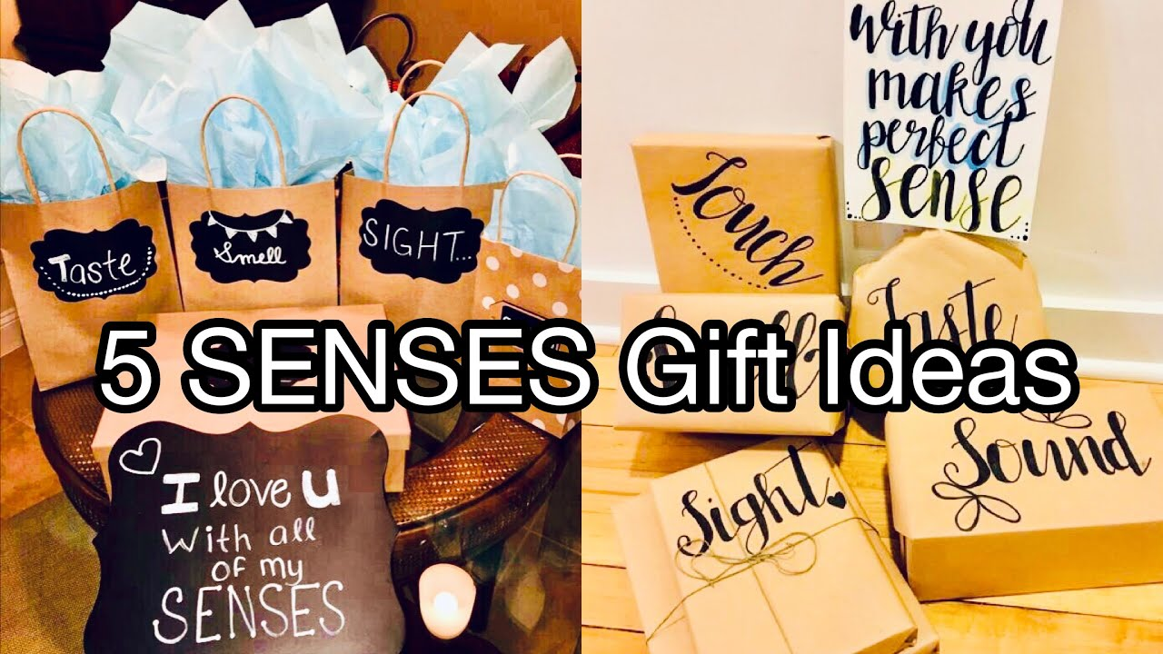 5 Senses Gift Ideas For Your Boyfriend In 2020 Long Distance Relationship Youtube