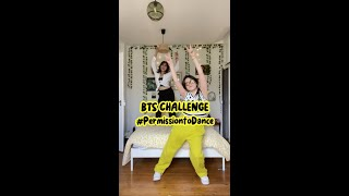 #BTS #PermissiontoDance CHALLENGE by MAYLINE & LOU #Shorts