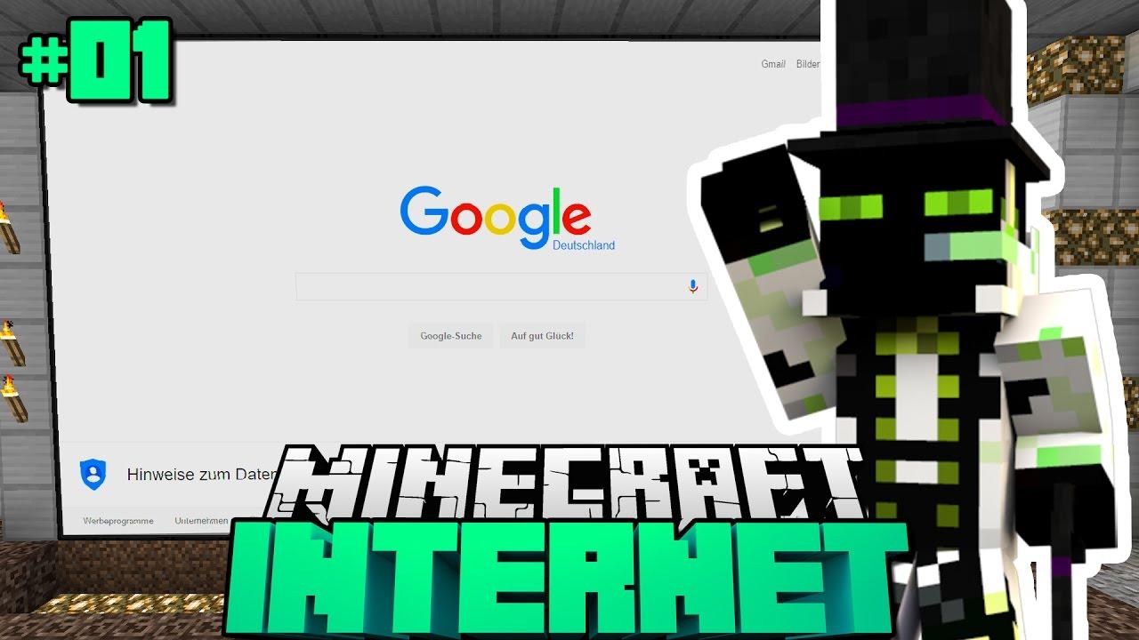 INTERNETPROJEKT IN MINECRAFT Minecraft Internet DeutschHD - Minecraft spielen online ohne download