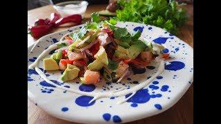 Jak zrobić meksykańskie ceviche z łososia