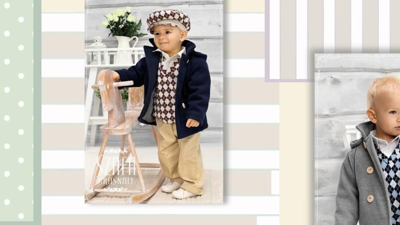 купити ексклюзивний нарядний стильний костюм для хлопчика на рік хлопчику  польський одяг для дітей - YouTube 3862284763739