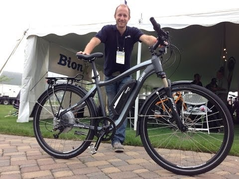 OHM XU 700 with BionX Electric Bike System at Charged Up   Electric Bike Report