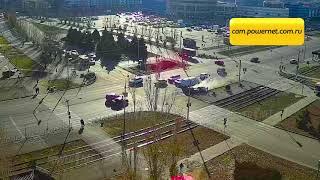 ДТП (авария г. Волжский) ул. Мира ул. Александрова 25-11-2019 12-46